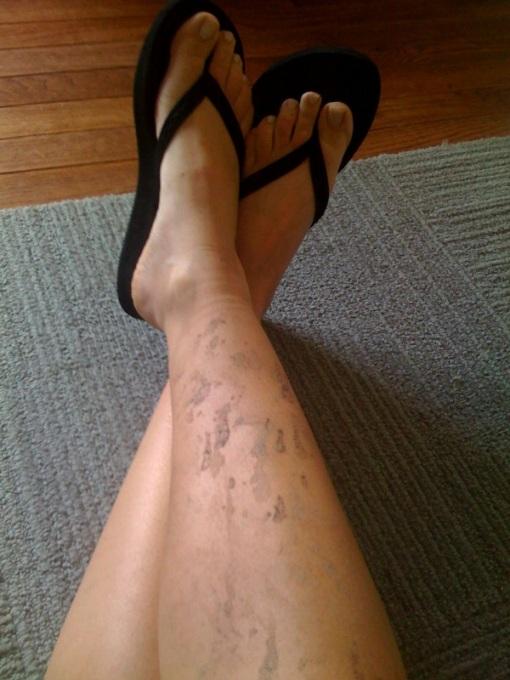 Swampfoot, post-ride